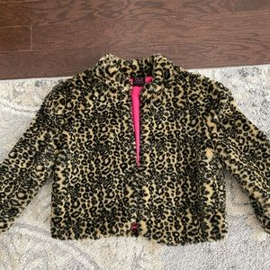 Material Girl- Cropped Faux Fur Jacket